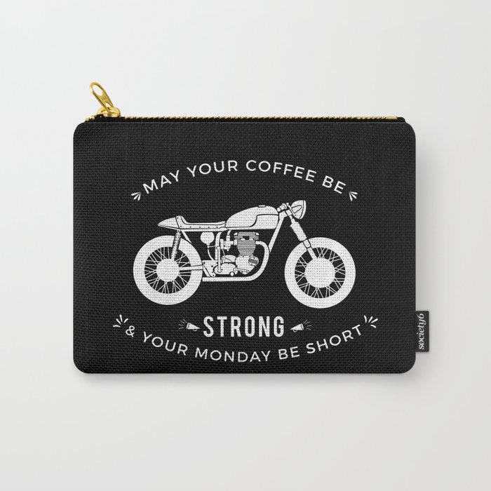 Cafe Racer - Monday Carry-All Pouch
