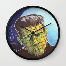 Franken-Pin Wall Clock