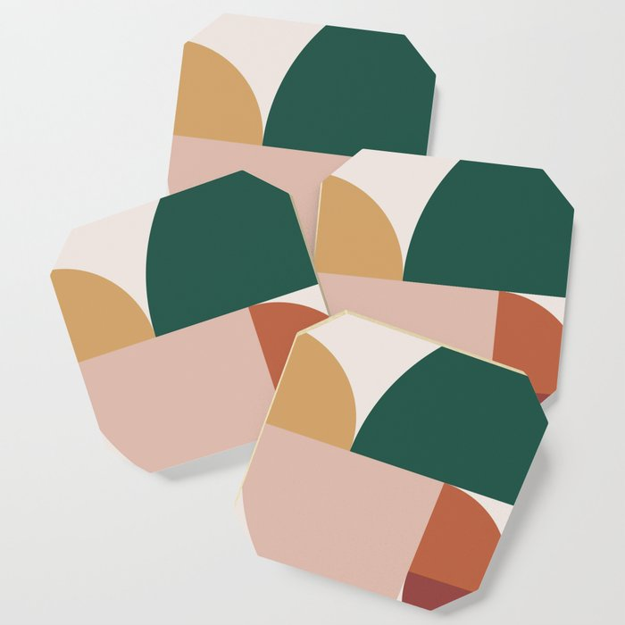 Abstract Geometric 11 Coaster