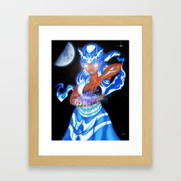 Yemaya Framed Art Print