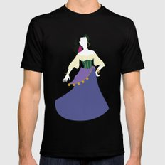 Esmeralda from The Hunchback of Notre-Dame Mens Fitted Tee Black LARGE
