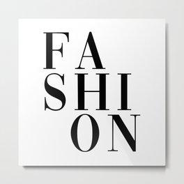 fashion Metal Print