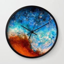 Timelessness - Original Abstract Art by Vinn Wong Wall Clock