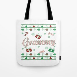 Grammy Christmas Tote Bag