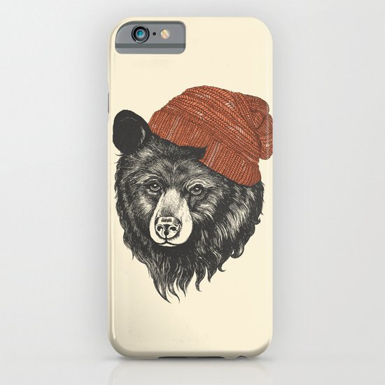 zissou the bear iPhone & iPod Case