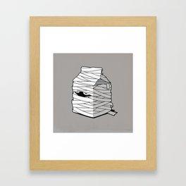Very Long Life Milk Framed Art Print
