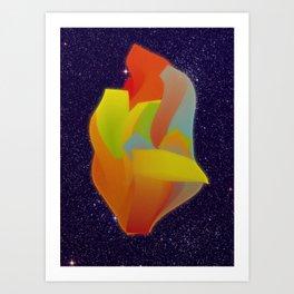Shocking Colors Art Print
