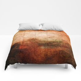 Abstract Cave II Comforters