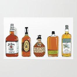 5 Whiskeys Rug
