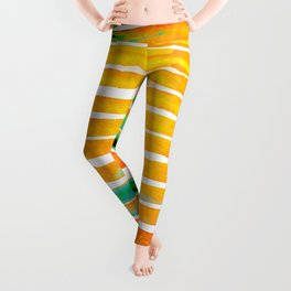 For Africa The Land of Gold Leggings