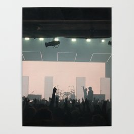 1975 concert Poster
