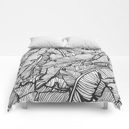 Black & White Jungle #society6 #decor #buyart Comforters