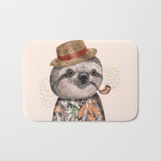 Mr.Sloth Bath Mat