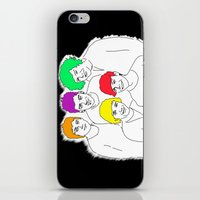 1d iPhone & iPod Skins featuring 1D punked by Rebecca Bear