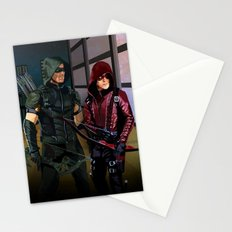 Arrowverse Stationery Cards