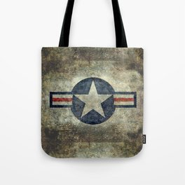 US Airforce style Roundel insignia V2 Tote Bag