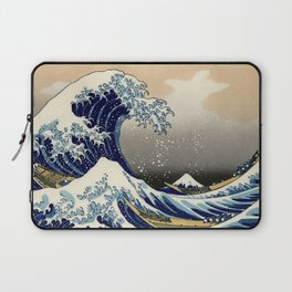 The Great Wave off Kanagawa Hokusai Laptop Sleeve