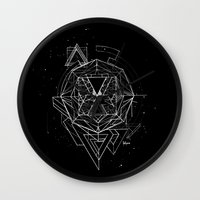 renaissance Wall Clocks featuring Renaissance by Sphynx Collective