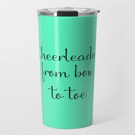 Cheerleader - Mint Travel Mug