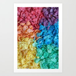 Fruity Pebbles I Art Print