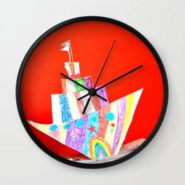 iMAGiNARY JOURNEY Wall Clock