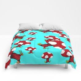 Little Red Mushroom Comforters