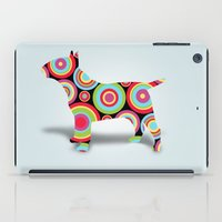 dogs iPad Cases featuring dogs  by mark ashkenazi