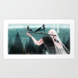 Northern Woods III Art Print