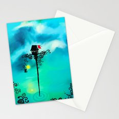 Red Flag Stationery Cards