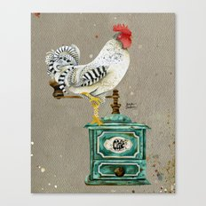 Rooster Wallace 2 Canvas Print