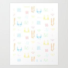 Pretty Panties Art Print