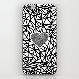 The Heart of Thorns iPhone Skin