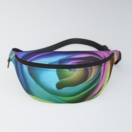 Rainbow Rose Fanny Pack
