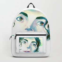 Color Eyes MJ Backpack