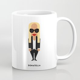 FASHION ICONS - DONATELLA Coffee Mug