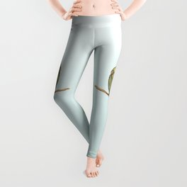 Cute female cockatiel Leggings