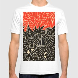 - fall : a red storm and the sea - T-shirt