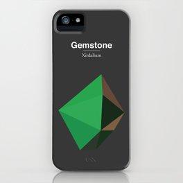 Gemstone - Xirdalium iPhone Case