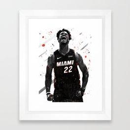 Jimmy Butler Basketball Print Basketball Wall Art Basketball Poster Basketball Wall Decor Poster Framed Art Print