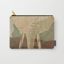 Elephant in the Jungle Camouflage Carry-All Pouch