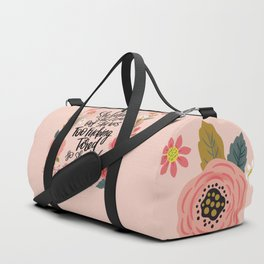 Pretty Swe*ry: She Believed She Could... Duffle Bag