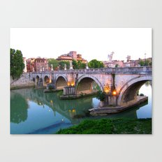 Ponte Sant'Angelo Canvas Print