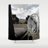 truck Shower Curtains featuring Truck by Susy Margarita Gomez