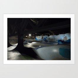 Burnside Skatepark Art Print