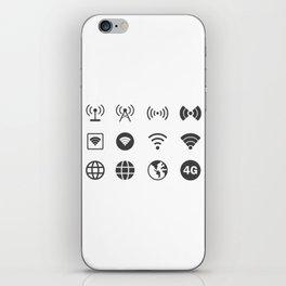 Internet Worldwide iPhone Skin