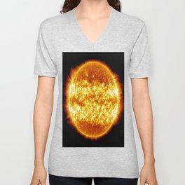 The Sun Unisex V-Neck