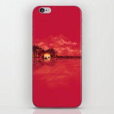 Musical Sunset iPhone Skin