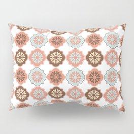 Decorative Quatrefoil Clover Pattern Pillow Sham