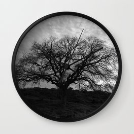 One Tree Wall Clock