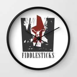 League of Legends Fiddlesticks Wall Clock